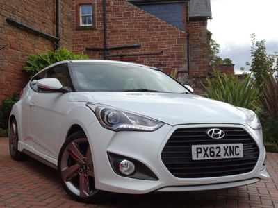 HYUNDAI VELOSTER Coupe 1.6 T-GDi Turbo S 4dr