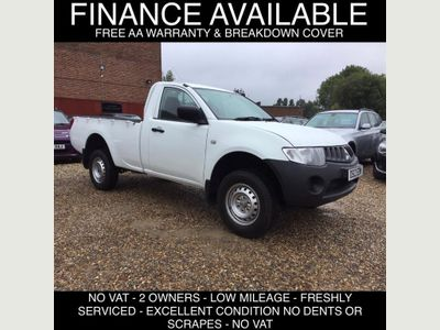 MITSUBISHI L200 Pickup 2.5 DI-D CR 4Work Single Cab 4WD 2dr