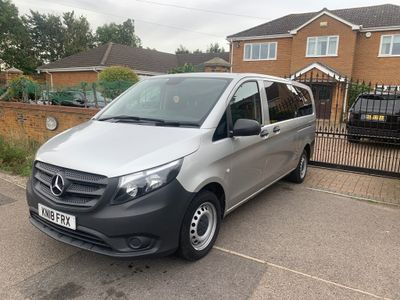 MERCEDES-BENZ VITO Other 2.1 114CDI BlueTEC Tourer PRO Extra Long Bus 5dr (8 Seats)