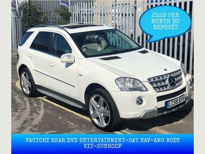 MERCEDES-BENZ M CLASS SUV 3.0 ML350 CDI BlueEFFICIENCY Sport 7G-Tronic 5dr