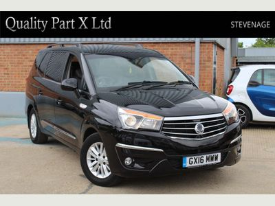 SSANGYONG TURISMO MPV 2.2D EX T-Tronic 5dr