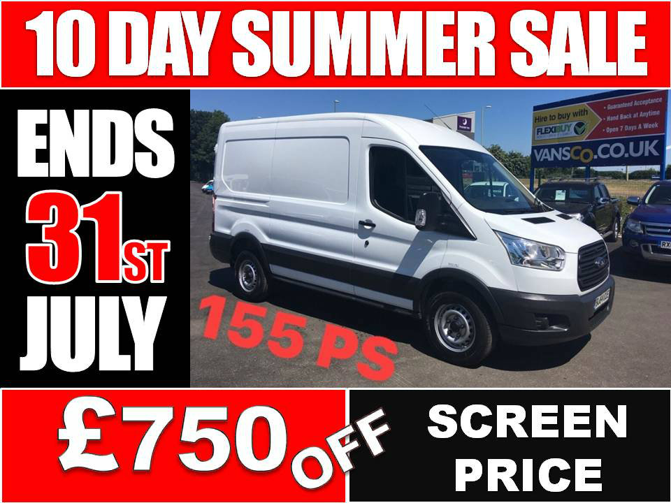 FORD TRANSIT Panel Van 2.2 TDCi 350 L2H2 Panel Van 5dr