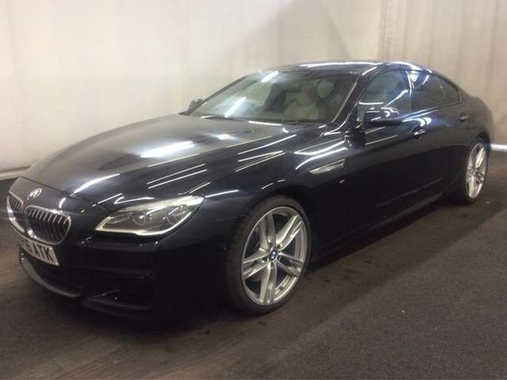 BMW 6 SERIES GRAN COUPE Coupe 3.0 640d M Sport Gran Coupe Auto (s/s) 4dr
