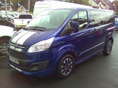 FORD TOURNEO CUSTOM Other 2.0 TDCi 290 L1 Sport Bus 5dr (8 Seats)
