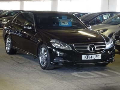 MERCEDES-BENZ E CLASS Saloon 2.1 E300 BlueTEC SE 7G-Tronic Plus 4dr