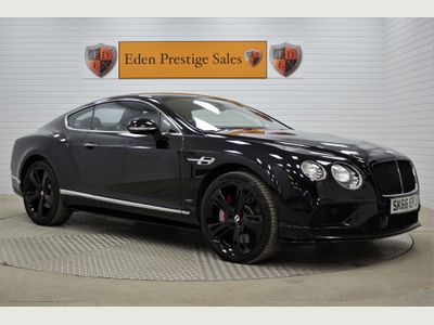 BENTLEY CONTINENTAL Coupe 4.0 V8 GT S Auto 4WD 2dr