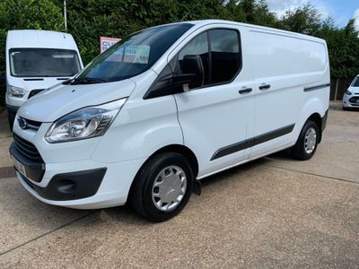 FORD TRANSIT CUSTOM Panel Van {Edition unlisted}