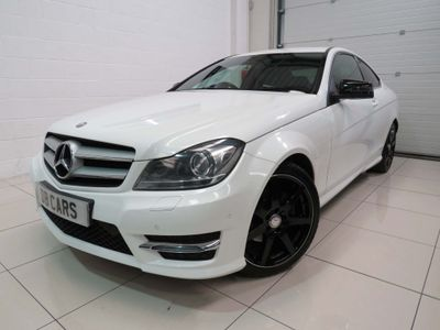 MERCEDES-BENZ C CLASS Coupe 2.1 C220 CDI BlueEFFICIENCY AMG Sport 2dr (Map Pilot)