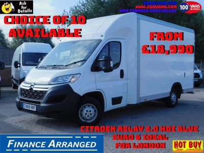CITROEN RELAY Luton DEPOSIT TAKEN, NEXT