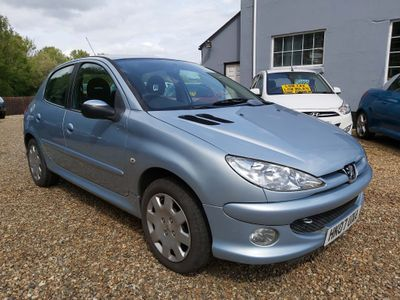 PEUGEOT 206 Hatchback 1.6 16v Look Tiptronic 5dr