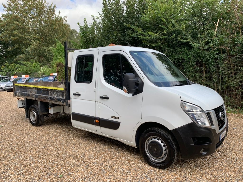 NISSAN NV400 Chassis Cab 2.3 DCi SE L3 3500 Double Cab Tipper (RWD) (s/s) 4dr
