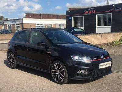 VOLKSWAGEN POLO Hatchback 1.8 TSI BlueMotion Tech GTI DSG (s/s) 5dr