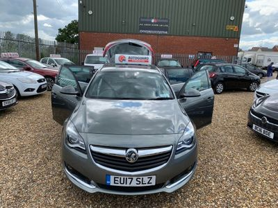 VAUXHALL INSIGNIA Estate 2.0 CDTi BlueInjection SRi VX Line Nav Sport Tourer (s/s) 5dr