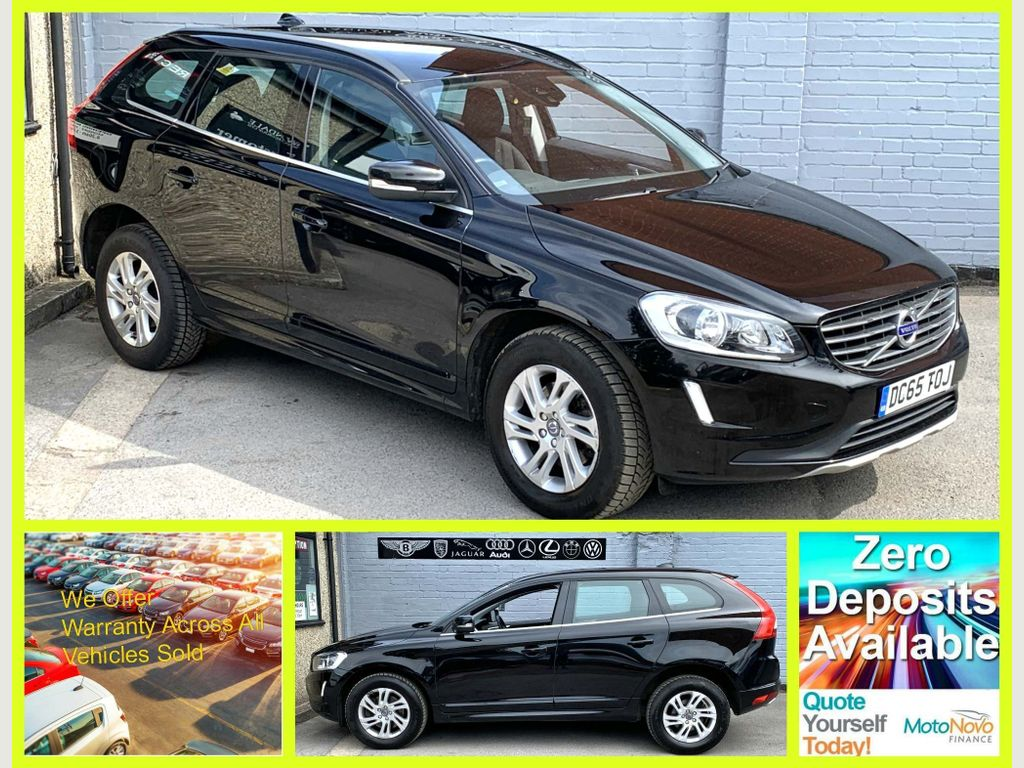 VOLVO XC60 SUV 2.0 D4 SE Geartronic 5dr