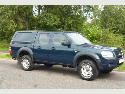 FORD RANGER Pickup 2.5 TDCi Double Cab 4x4 4dr (No a/c)