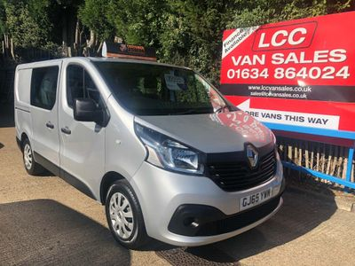 RENAULT TRAFIC Other 1.6 dCi Energy SL27 Business+ Crew Van 5dr (6 Seats)