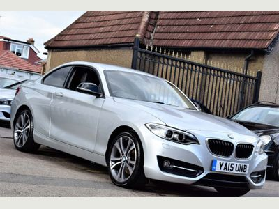 BMW 2 SERIES Coupe 2.0 220d Sport Auto xDrive (s/s) 2dr