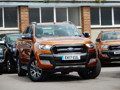 FORD RANGER Pickup 3.2 TDCi Wildtrak Double Cab Pickup 4x4 4dr (EU6)