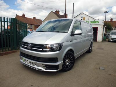 VOLKSWAGEN TRANSPORTER Panel Van 2.0 t28 sportline look choice of colours
