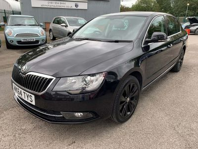 SKODA SUPERB Hatchback 2.0 TDI CR DPF Black Edition 5dr