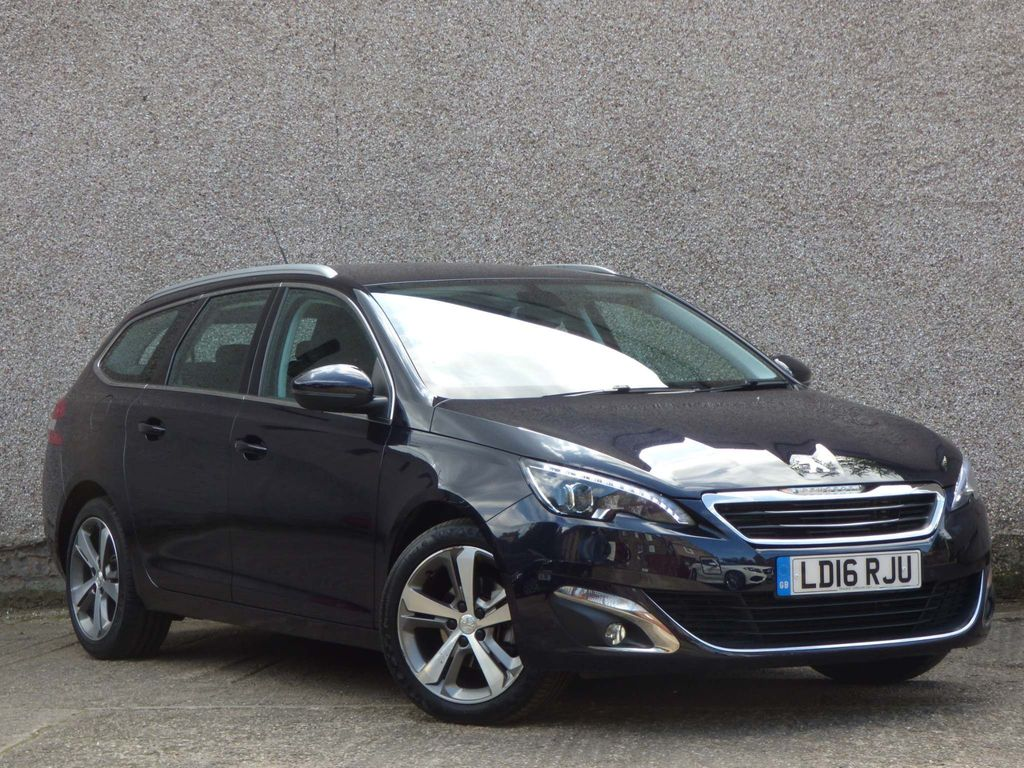 PEUGEOT 308 SW Estate 1.6 BlueHDi Allure EAT6 (s/s) 5dr