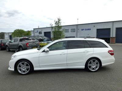 MERCEDES-BENZ E CLASS Estate 2.1 E250 CDI BlueEFFICIENCY Sport 7G-Tronic Plus (s/s) 5dr