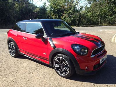 MINI PACEMAN Hatchback 2.0 Cooper SD (Chili) ALL4 (s/s) 3dr
