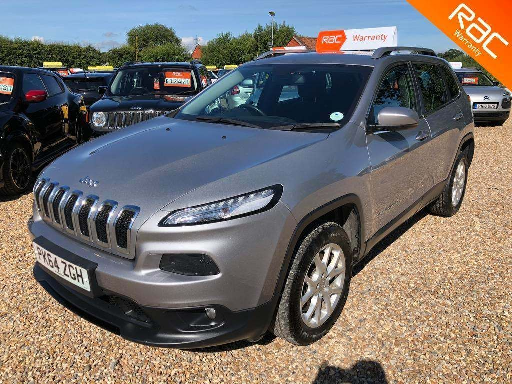 JEEP CHEROKEE SUV 2.0 CRD Longitude 4WD (s/s) 5dr