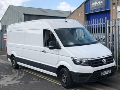 VOLKSWAGEN CRAFTER Panel Van 2.0 TDI CR35 LWB Startline (Business) Panel Van 5dr (EU6)