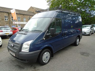 FORD TRANSIT Panel Van 2.2 TDCi 280 M Medium Roof 3dr (EU5, MWB)