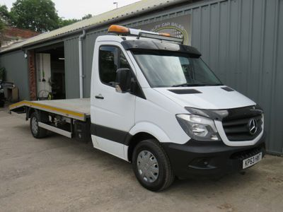 MERCEDES-BENZ SPRINTER Vehicle Transporter 2.1 CDI 313 Chassis Cab 2dr SWB