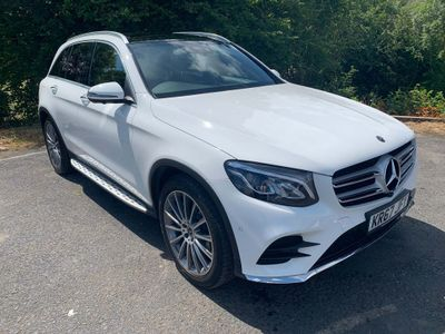 MERCEDES-BENZ GLC CLASS SUV 3.0 GLC350d V6 AMG Line (Premium) G-Tronic 4MATIC (s/s) 5dr