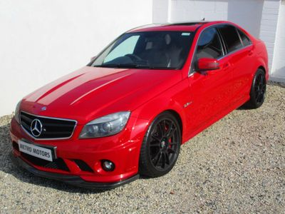 MERCEDES-BENZ C CLASS Saloon 6.3 C63 AMG 7G-Tronic 4dr