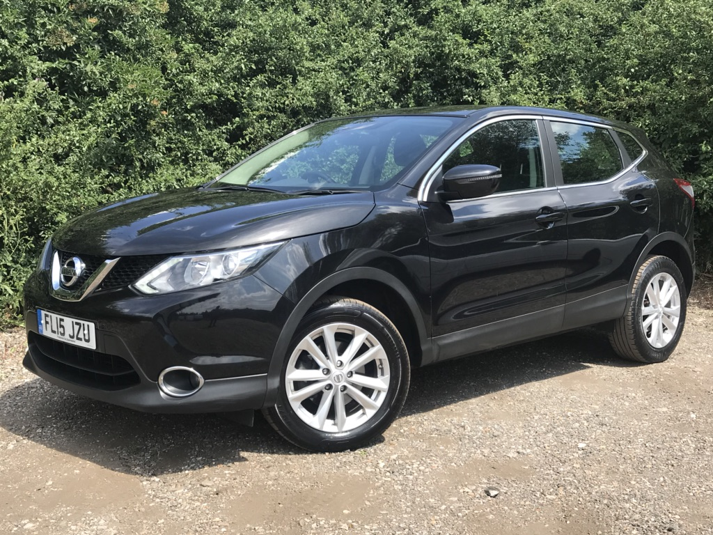 NISSAN QASHQAI SUV 1.5 dCi Acenta (Comfort Pack) 5dr