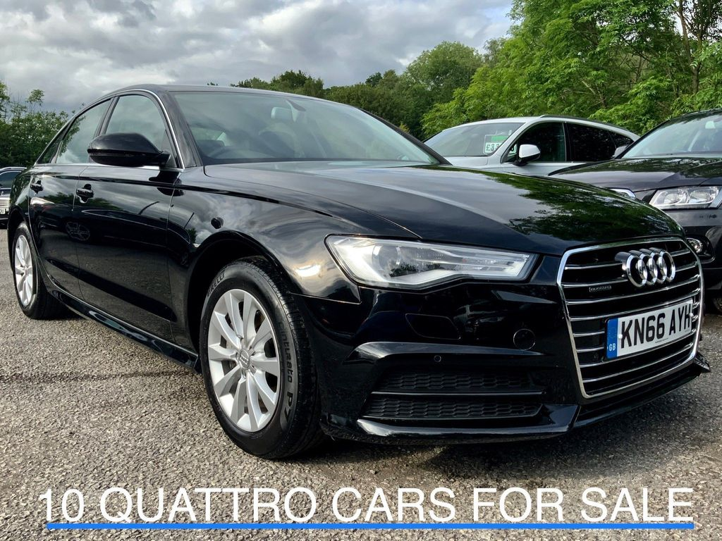 AUDI A6 SALOON Saloon 3.0 TDI V6 SE Executive S Tronic quattro (s/s) 4dr