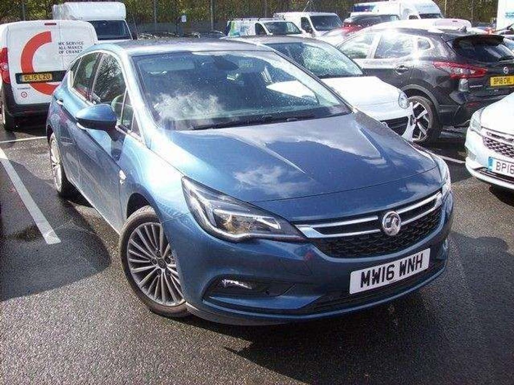 VAUXHALL ASTRA Hatchback 1.4 i Turbo 16v Elite 5dr