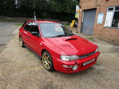 SUBARU IMPREZA Hatchback 2.0 2000 Turbo 5dr