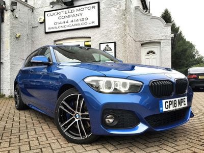 BMW 1 SERIES Hatchback 2.0 118d M Sport Shadow Edition Sports Hatch (s/s) 5dr