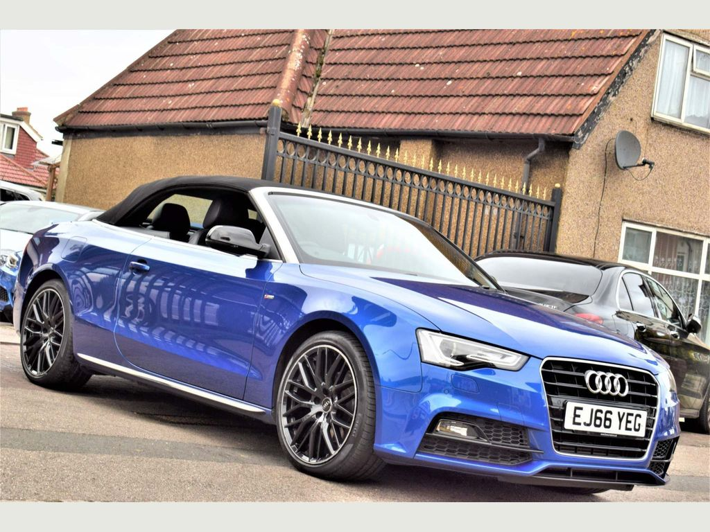 AUDI A5 CABRIOLET Convertible 1.8 TFSI S line Special Edition Plus Cabriolet (s/s) 2dr