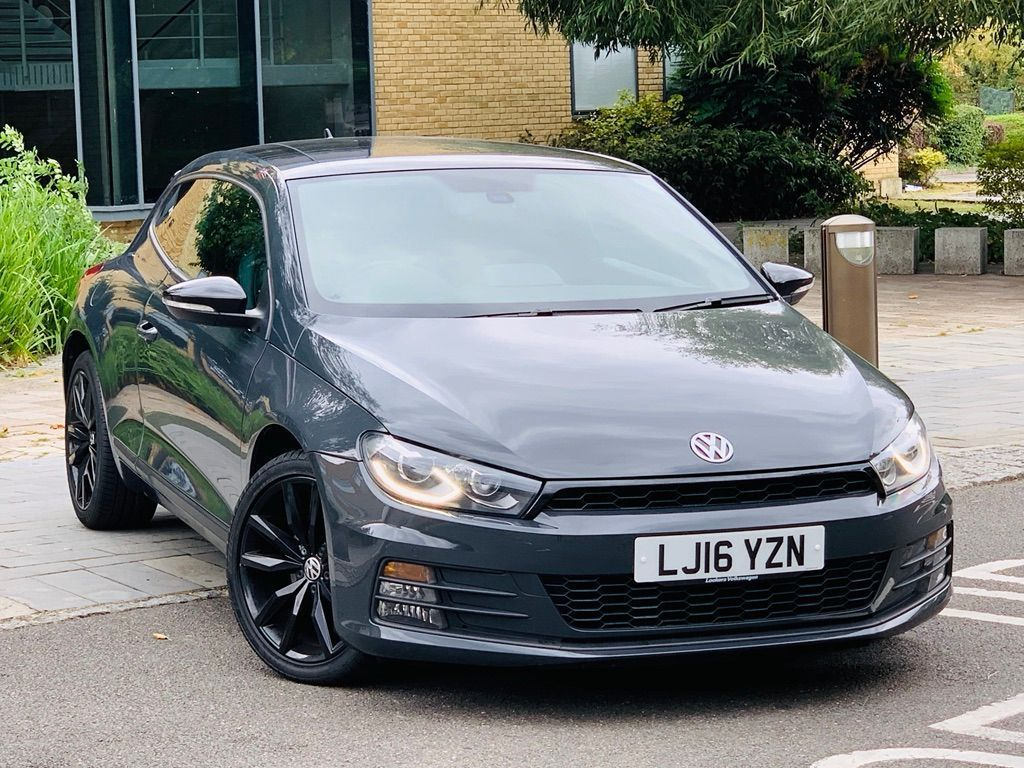 VOLKSWAGEN SCIROCCO Coupe 2.0 TSI BlueMotion Tech GT Black Edition Black Edition Hatchback DSG 3dr
