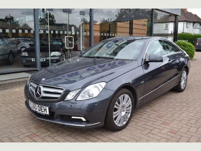 MERCEDES-BENZ E CLASS Coupe 1.8 E250 CGI BlueEFFICIENCY SE 2dr