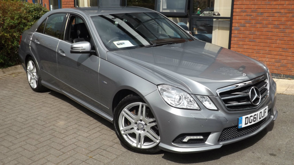 MERCEDES-BENZ E CLASS Saloon 2.1 E220 CDI BlueEFFICIENCY Sport Edition 125 7G-Tronic (s/s) 4dr