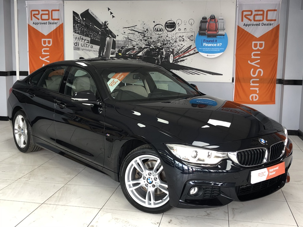 BMW 4 SERIES GRAN COUPE Coupe 3.0 TD 430d M Sport Gran Coupe Sport Auto xDrive (s/s) 5dr