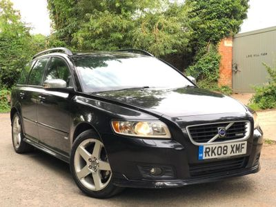 VOLVO V50 Estate 2.0 D R-Design Sport 5dr