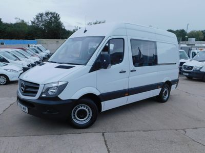 MERCEDES-BENZ SPRINTER Combi Van 2.1 CDI 313 130PS COMBI VAN MWB 6 SEATS
