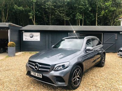 MERCEDES-BENZ GLC CLASS SUV 2.1 GLC220d AMG Line (Premium) G-Tronic+ 4MATIC (s/s) 5dr