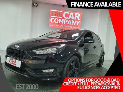 FORD FOCUS Hatchback 1.5 T EcoBoost Zetec S Black Edition Manual (s/s) 5dr