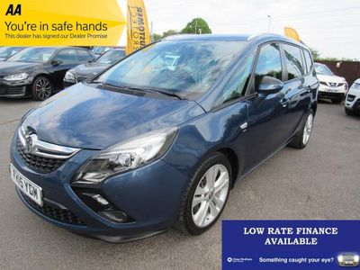 VAUXHALL ZAFIRA TOURER MPV 2.0 CDTi SRi (Leather Pack) 5dr