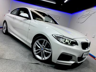 BMW 2 SERIES Coupe 2.0 220i M Sport (s/s) 2dr