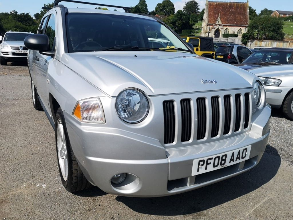 JEEP COMPASS SUV 2.4 Limited CVT 4x4 5dr